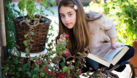 děti a bylinky