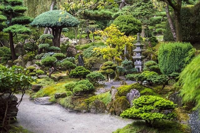 japonská zahrada - Japonské zahrady