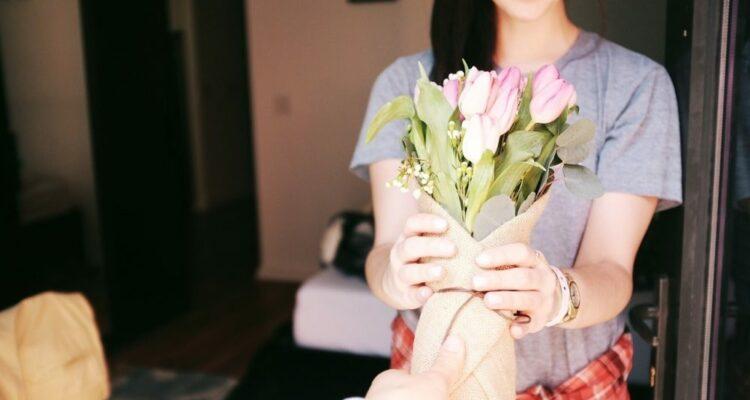 pořet květin