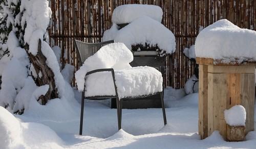 prace na zahrade v zime 2 - Práce na zahradě v zimě. Také v tomto období nezahálíme
