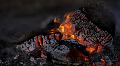 oheň - Hnojíte popelem? Lepší službu vám udělá v kompostu
