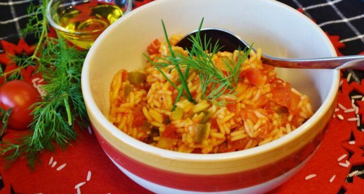 rýže vařená
