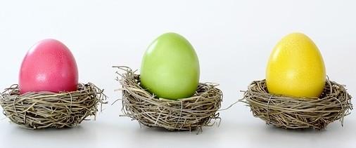 barevná vajíčka - Malování vajíček přírodními materiály. Zdravotně nezávadné