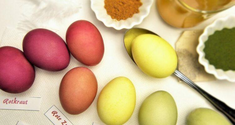 barvení vajíček