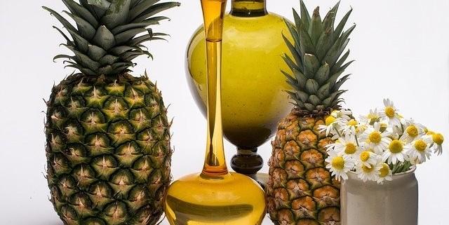 ananas - Domácí dezinfekce nejen ze zahrádky. Máte ji doma