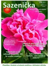 titulni 23 - Časopis - dům a zahrada. Pěstování a zahradničení